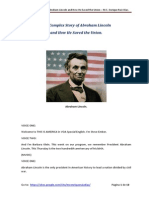 President Abraham Lincoln and the American Civil War