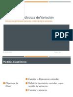 Seman 10_Medidas Estadísticas de Variación