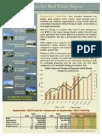 Market Update Newsletter - September 2013