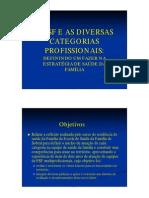 Psf Diversas Categorias Profissionais Definindo Um Fazerestrategia Saude Familia