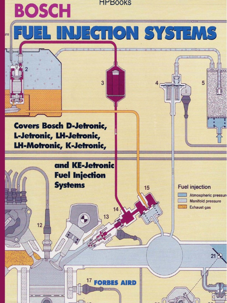 Bosch - Efi Fuel Injection Systems - Ingles- 140pgs | Carburetor | Internal  Combustion Engine