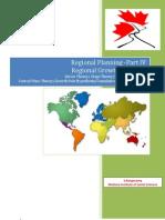 Regional Planning Part IV Regional Growth Theories
