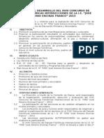 """Bases para el desarrollo del XVII Concurso de Danzas Folclóricas Intersecciones de la I.E. """"José Antonio Encinas Franco"""" 2013"""