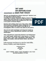 Anonymous flyer in 2013 Macon-Bibb special election run-off