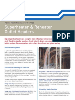 SES - Superheater & Reheater Outlet Headers