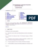 WILTA Constitution July 2006
