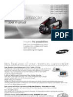 Samsung Camcordrer SMX-C10P User Manual