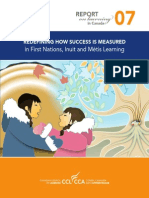 Redefining How Success is Measured in First Nations, Inuit and Metis Learning