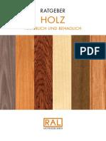 RAL Ratgeber Holz