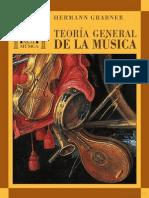 Teoria General de La Musica-grabner