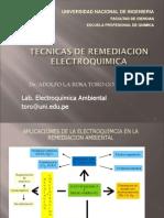 Tecnicas de Remediacion Electroquimica