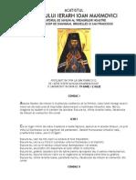 Acatistul Sf Ioan Maximovici