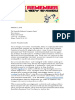 Letter To Miami-Dade State Attorney Re