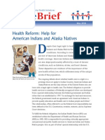 Health Reform Help for American Indians and Alaska Natives