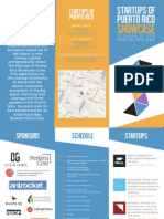 SoPR Showcase Brochure