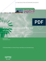 Biofuels Subsidies and the Law of the World Trade Organisation