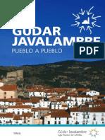 Gudar Javalambre Folleto Pueblo a Pueblo