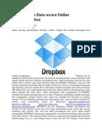 Penyimpanan Data Secara Online Dengan Dropbox