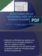 Serotonina en la neurobiología de la conducta agresiva