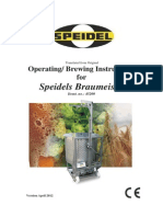 Braumeister 200L Manual and Brewing Instructions