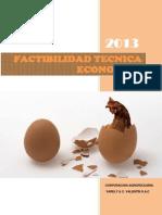 Factibilidad Tecnica Economica Granja de Aves de Postura Lote 1