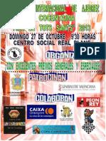 Cartel Torneo Internacional Cocentaina 2013