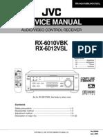 Service Manual JVC RX-6010vbk, 6012vsl