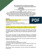 Articulo 1- Diseño Estadístico de Experimentos en fabricación de almidón