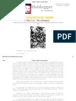 Heidegger en Castellano - El Concepto de Tiempo