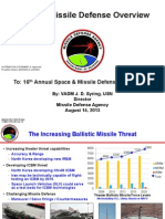 Ballistic Missile Defence Overview