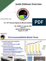 Ballistic Missile Defence Overview