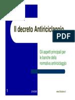 La Legge Antiriciclaggio - Studiamo(2)
