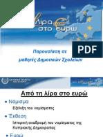 Κυπριακά νοίσματα, παρουσίαση από κεντρική τράπεζα