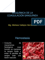 Bioquimica de La Coagulacion Sanguinea. Final-1