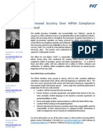 Increased Scrutiny Over HIPAA Compliance Ahead