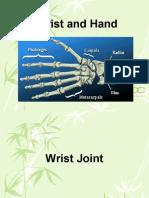 Bio Mechanics of the Wrist and Hand