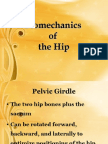 Bio Mechanics of the Hip