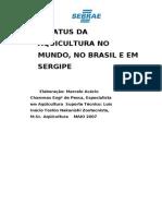 SEBRAE - Status Da Aquicultura No Mundo No Brasil e Em Sergipe (2)