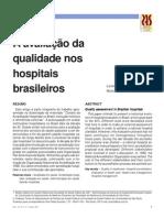 A avaliação da qualidade nos hospitais brasileiros