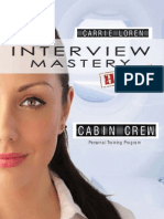 Sample pages from Interview Mastery   Cabin Crew