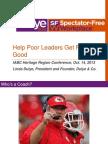 Linda Dulye Help Poor Leaders Get Really Good Presentation