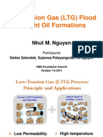 Low Tension Flood in Tight Oil Formations