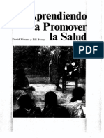 Werner, David; Bower, Bill. Aprendiendo a promover la salud.