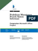 Modul Praktikum Manajemen Proyek Sistem Informasi Pertemuan 1