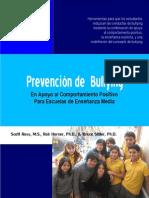 Prevencion de Bullying