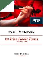 Irish Fiddle Tunes