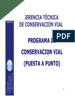 Niveles de Conservacion Vial ABC