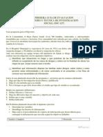 Guia de Evaluacion sobre diseño de proyecto (SOC-127)