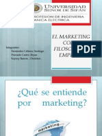 EL MARKETING COMO FILOSOFÍA DE EMPRESA