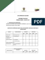 Informe Gestion Enero-Agosto 2011